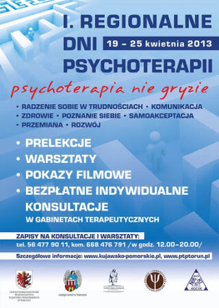 Plakat Konferencja PTP 2013